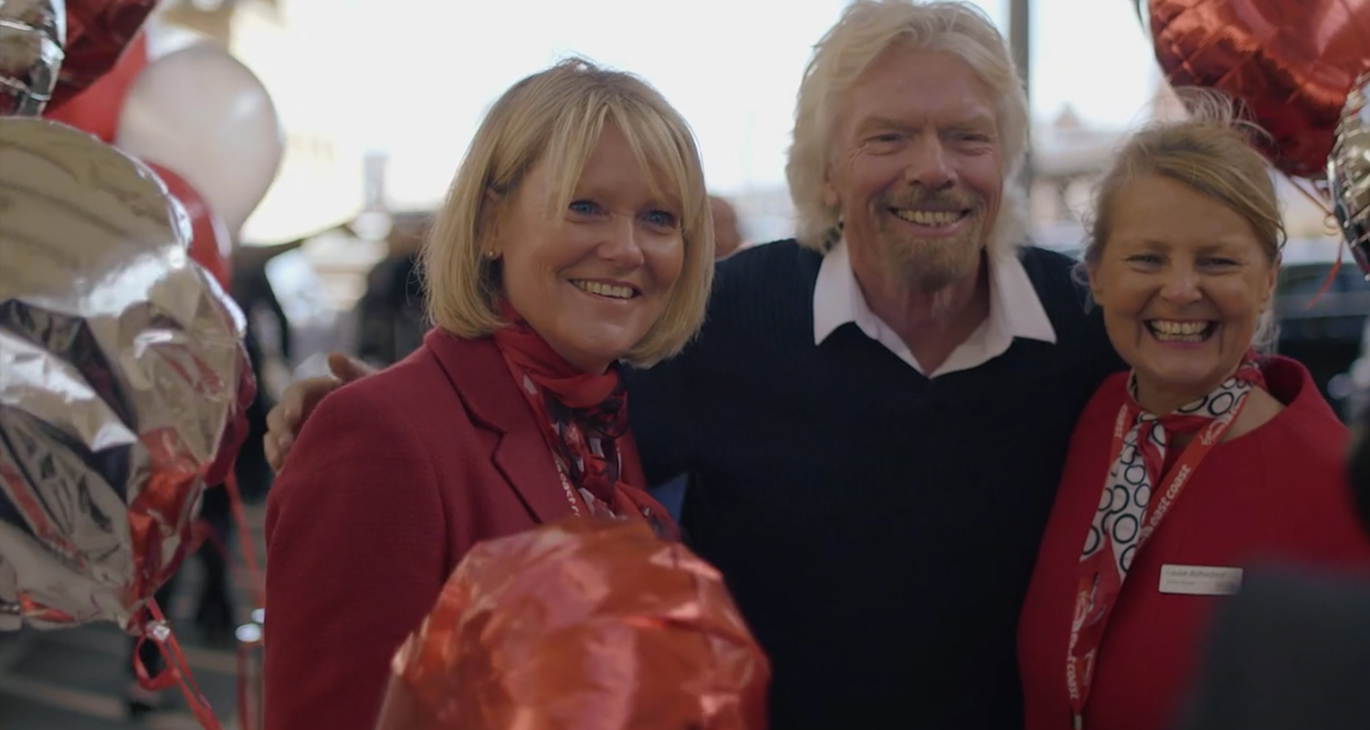 On Par Productions Cardiff Film Production East Coast Launch Virgin Trains
